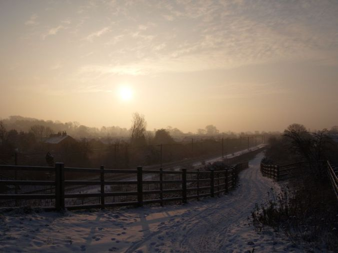 Snow Dawn (©2012 by Andy Vickers)